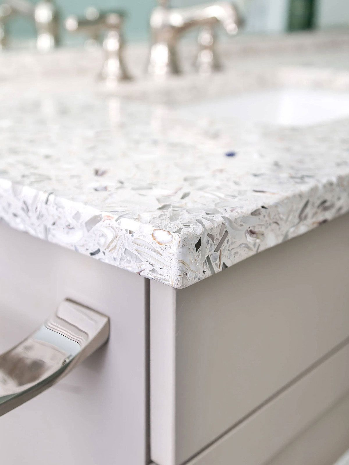 37 Recycled Glass Countertop Ideas Designs Tips Advice Glass Countertops Recycled Glass Countertops Countertops