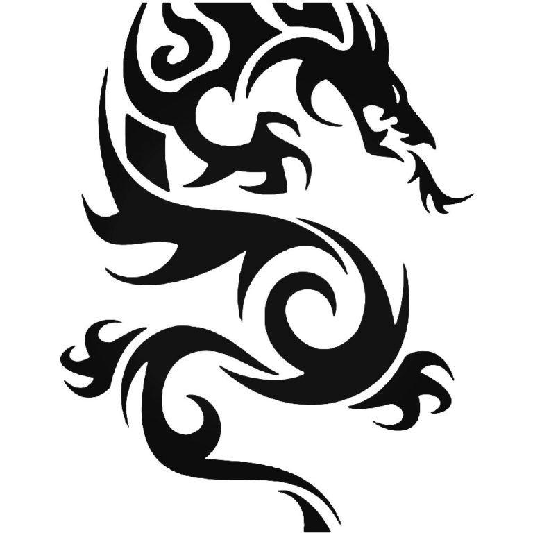 Photo of Tribal Dragon 22 Vinyl Aufkleber Sticker