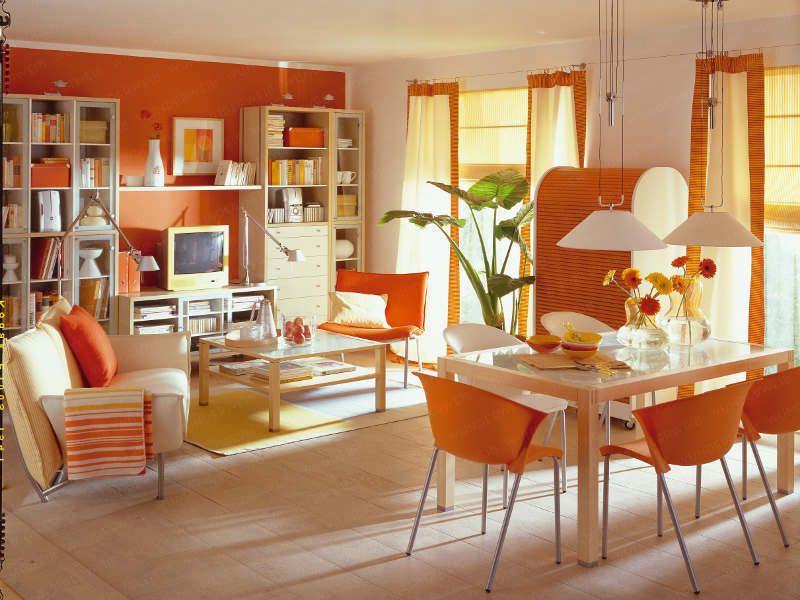 orange   home decoration   pinterest   orange und städte, Esszimmer dekoo