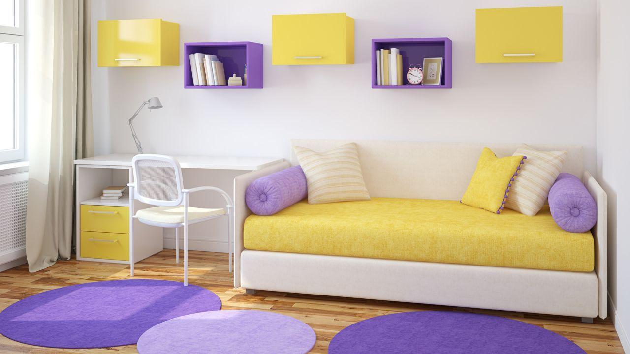 Color morado o lila para dormitorios | Room and Bedrooms