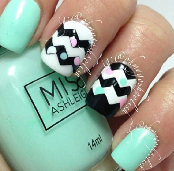Pretty cute❤ | Nails | Pinterest