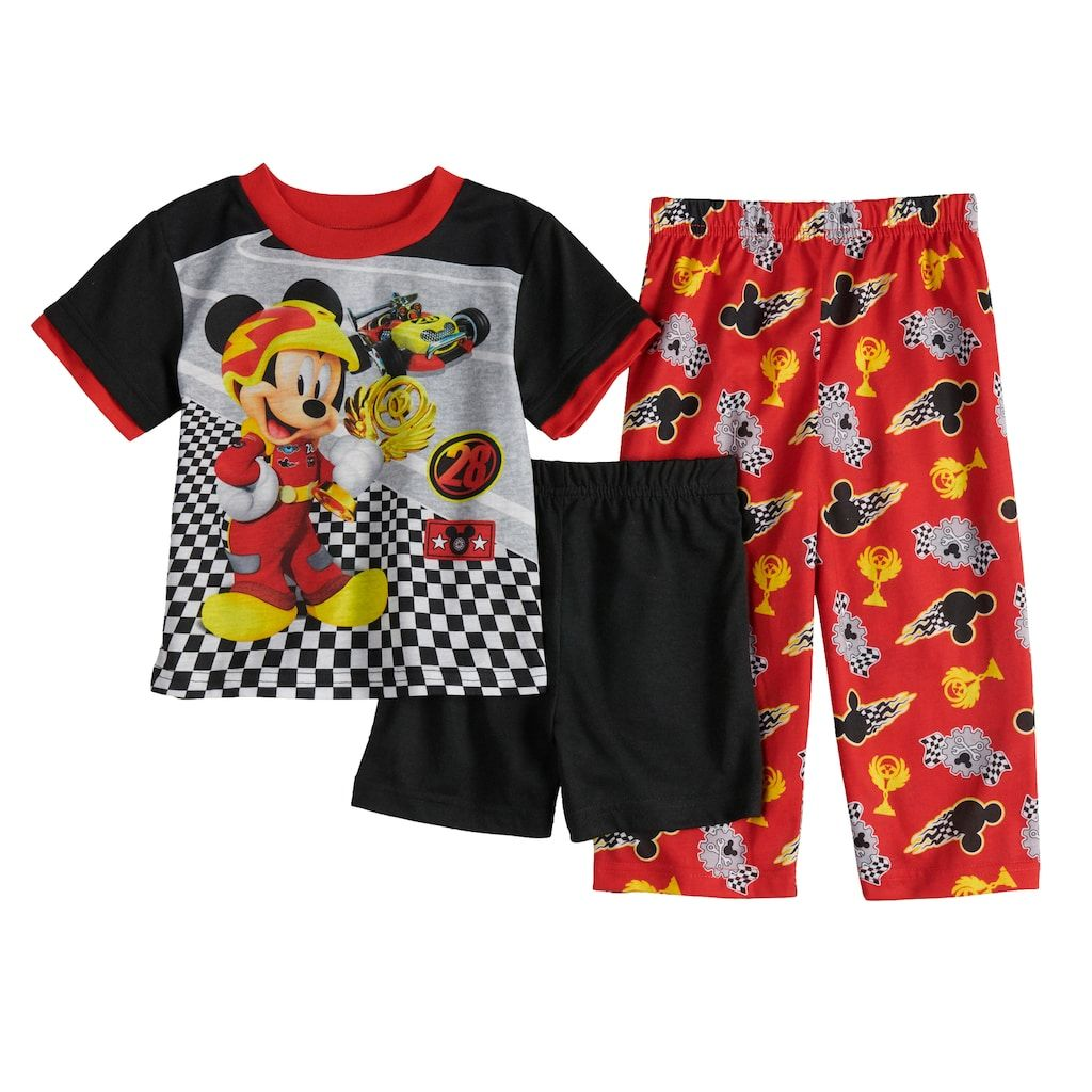 Disney Boys Mickey and The Roadster Racers Two Piece Swim Set