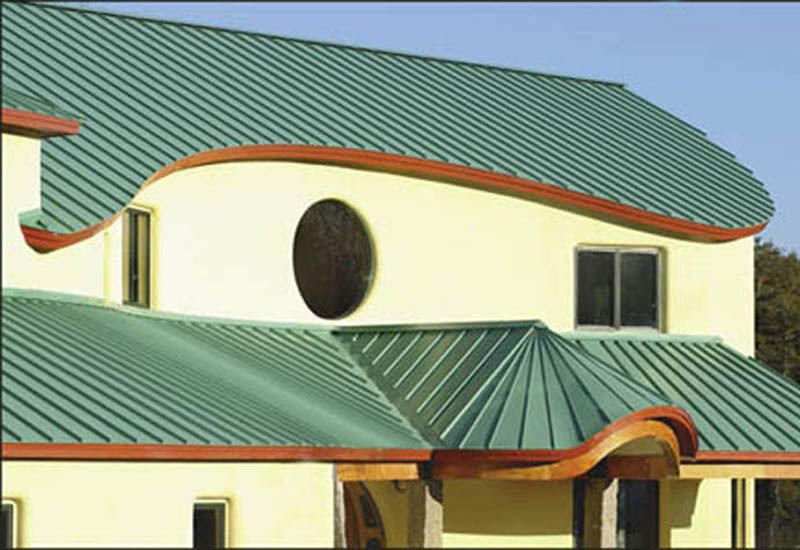 Weather Protection By Metal Tile Roofing 1 Metalroofing Offer The Best Protection Against Ice Snow And Ice Dams Roof Design Roof Architecture Metal Roof