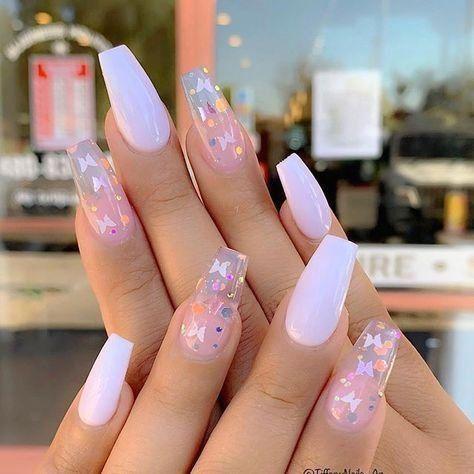 pinvanessagodinezz pretty acrylic nails summer fake
