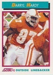 1992 Score #506 Darryl Hardy RC by Score. $0.39. 1992 Pinnacle/Score trading card in near mint/mint condition, authenticated by Seller