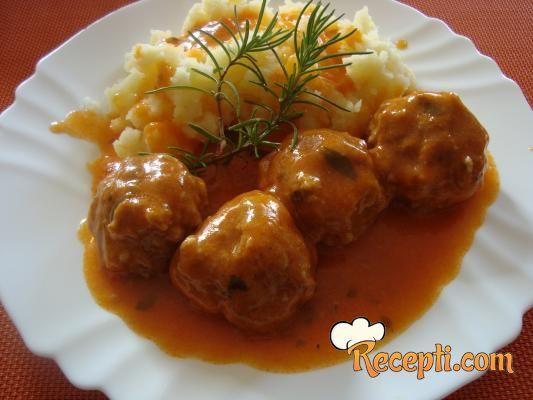 Ćuftice u sosu od kečapa