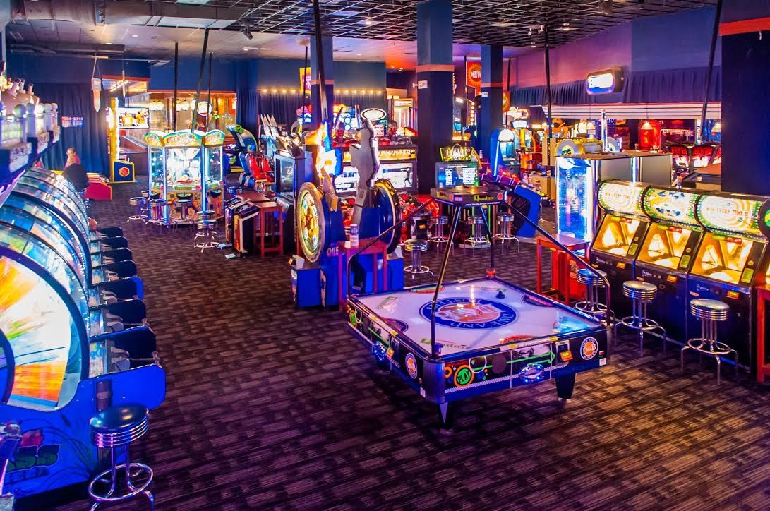 At Dave & Buster's you can play hundreds of the hottest