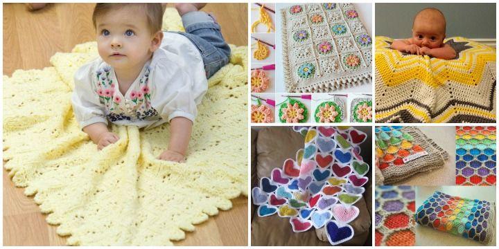 Patrones Grátis De Manta De Bebé - http://blogmujer.org/patrones-gratis-de-manta-de-bebe/