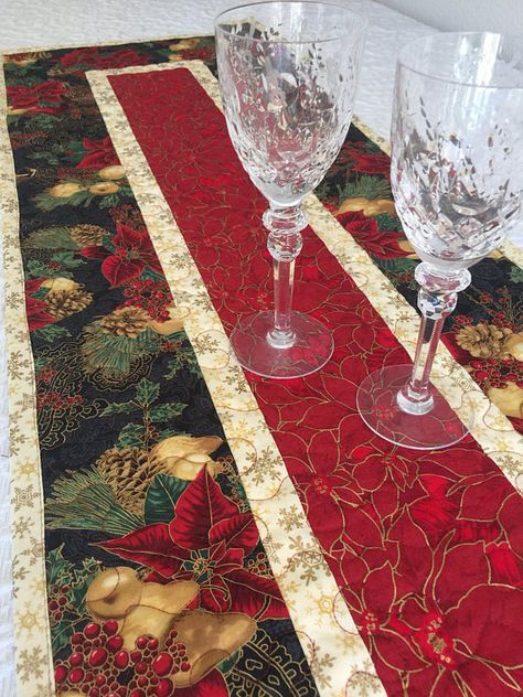 49 X 15 Inspiration Photo Holiday Table Runner Quilted Table Runners Christmas Quilted Table Runners