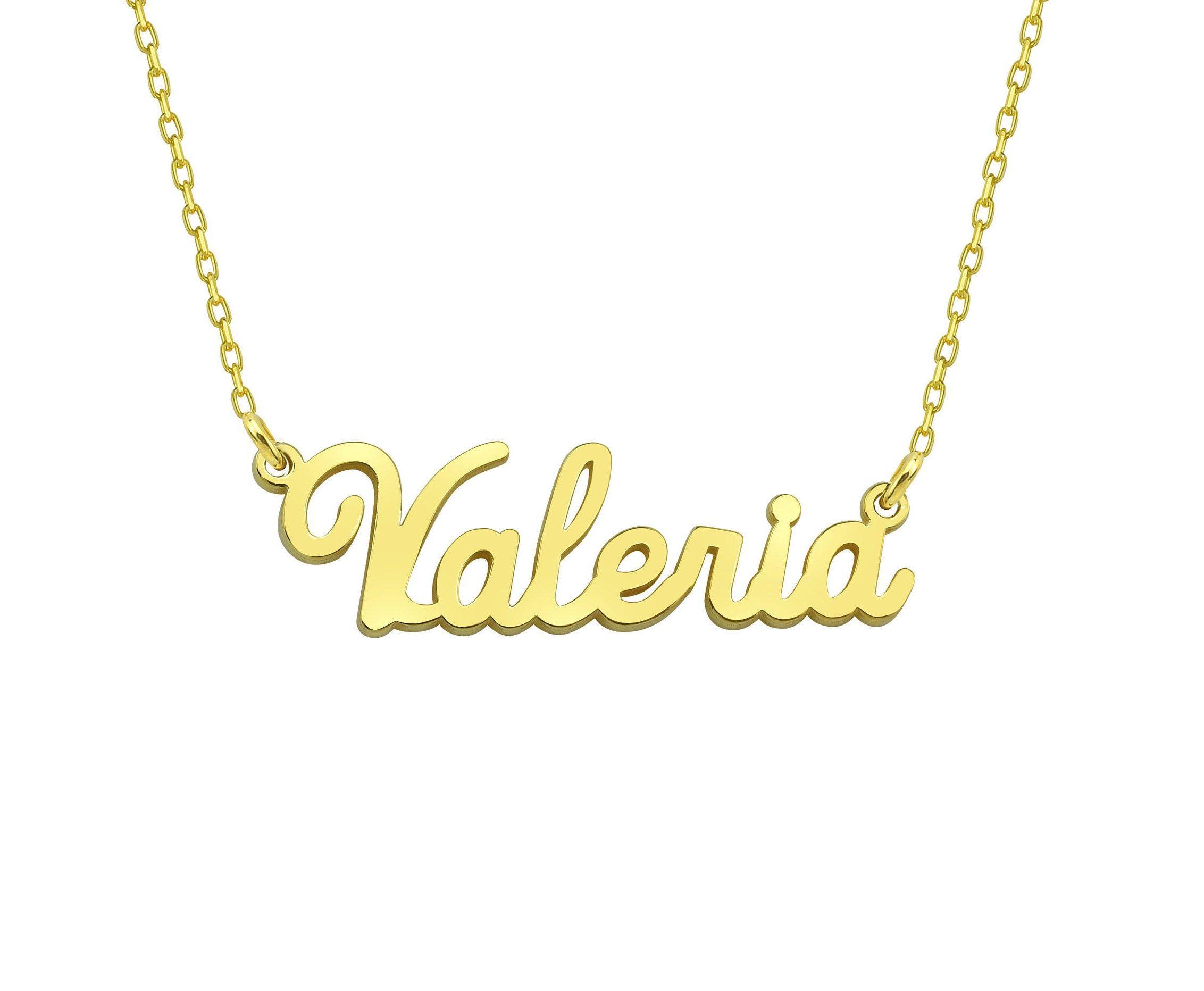Custom Name Necklace, Personalized Jewelry, Personalized Gift, Gift For Her, Name Necklace, Danity Necklace