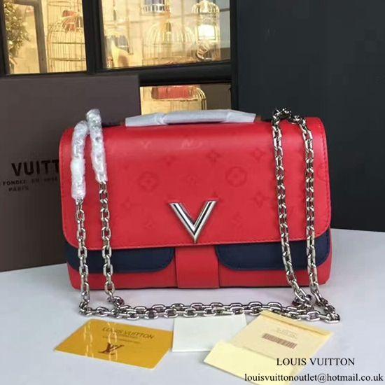 Louis Vuitton M42901 Very Chain Bag Shoulder Bag Taurillon Leather ... 7fb82c9022931