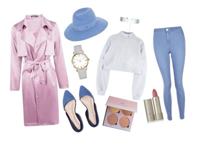 """""""Pink"""" by lxxvii on Polyvore featuring ファッション, Boohoo, Maison Michel, New Look, Accessorize と Ilia"""