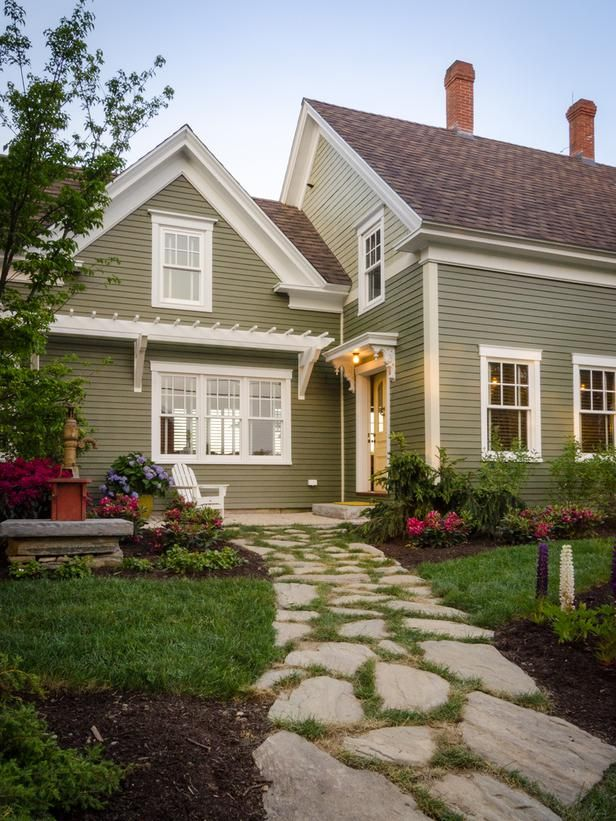 Exterior House Colors For Small Homes
