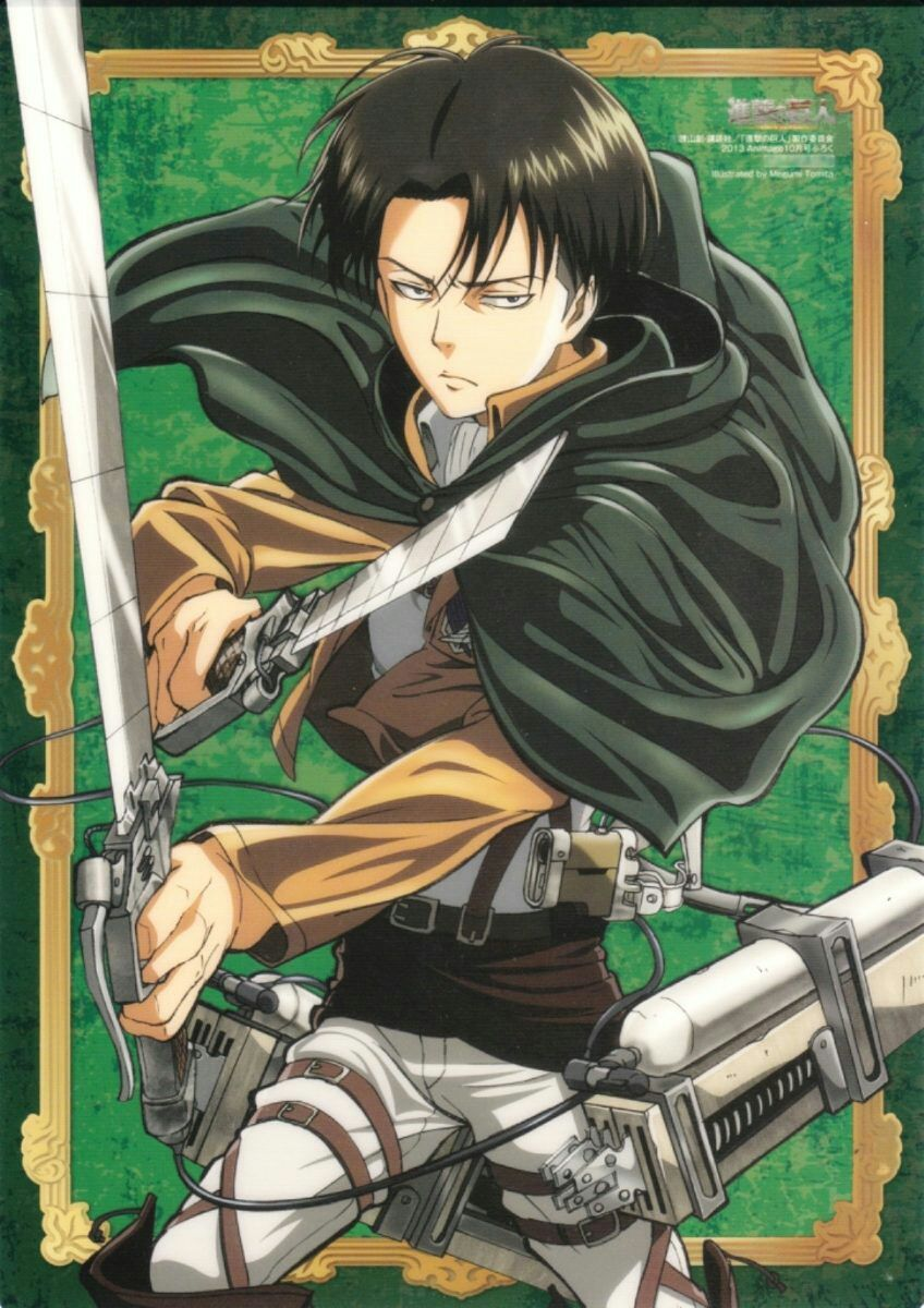 Xả ảnh Attack On Titan Levi Ackerman Attack On Titan Anime