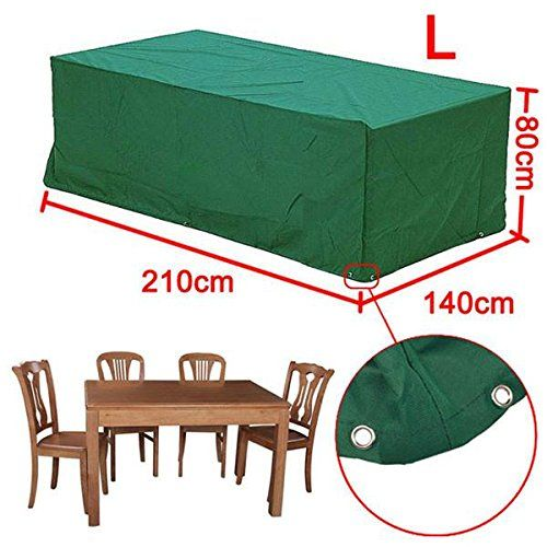 rattan furniture covers. Popamazing Outdoor Garden Furniture Cover 4/6 Seater Rattan Chairs/Bench Waterproof Patio Covers