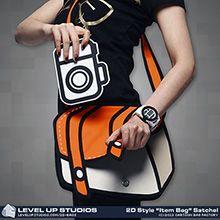 "2D Style ""Item Bag"" Satchels - On my laptop want list"