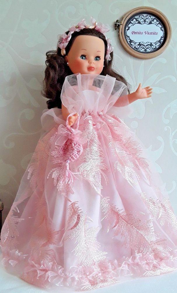 Vestido de fiesta para Nancy, Mari\'s + OBSEQUIO. Diseñado por Petits ...