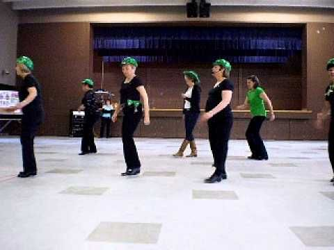 Line Dance Party March 2011 - Clogging Demo #1