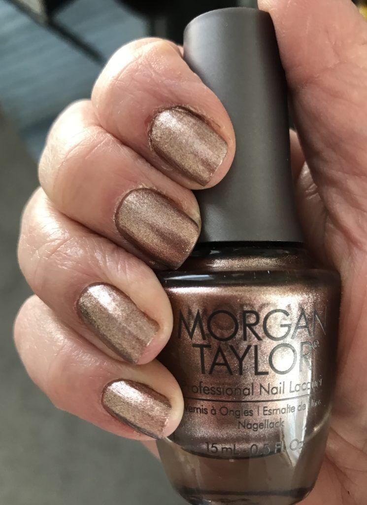 Morgan Taylor Professional Nail Lacquer No Way Rose Never Say
