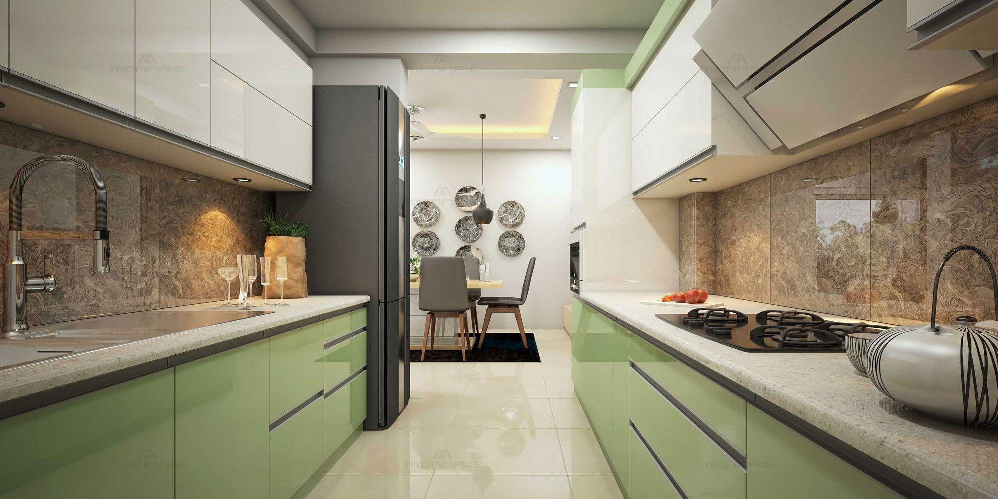 enchantin kitchen interior decorators in thrissur | interior