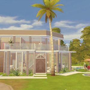 Via sims house 07 the sims 4 the sims 4 house pinterest - Casas bonitas sims 3 ...