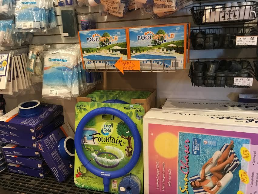 Pool Stores Prepare for the Season by Including Waste