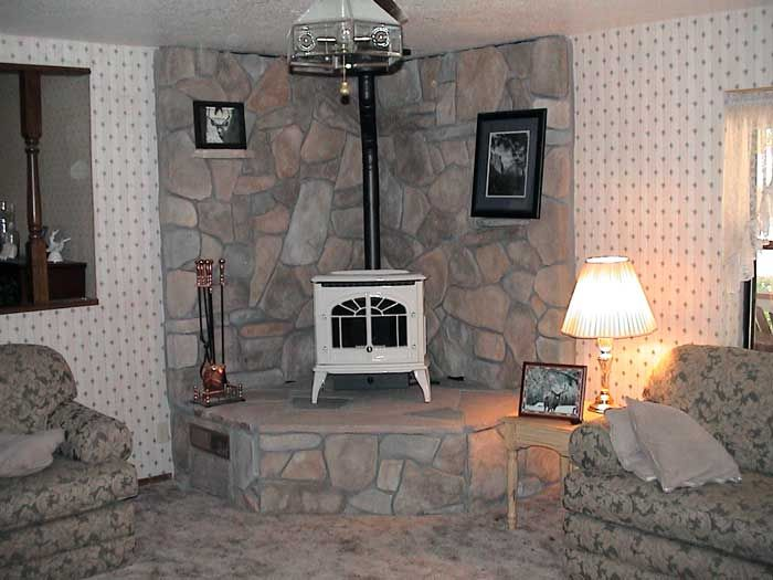 an 25 tall 80 year old wood stove flue enviro windsor pellet stove. high  hearth ... - I Like The High Hearth This Stove Is Sitting On. I Would Like A