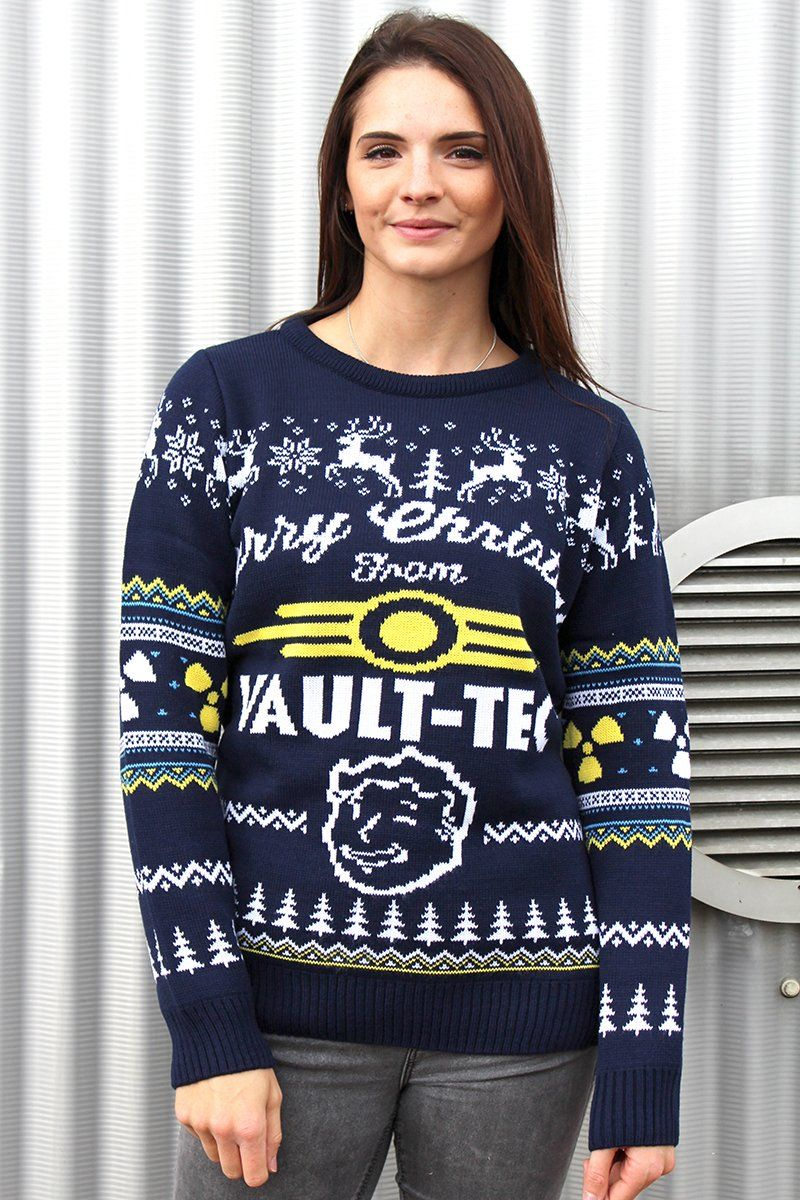 Amazon.com: Official Fallout 4 Christmas Sweater: Clothing ...