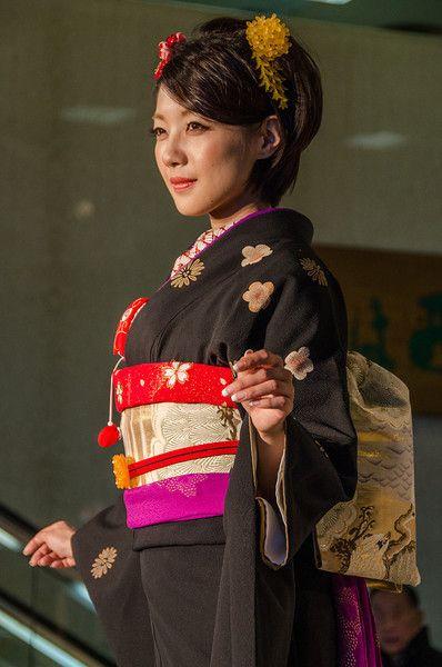 Women in kimono - Kyoto, Japan