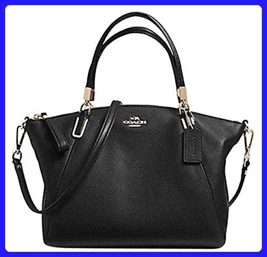 84c4e4603 Coach Leather Small Kelsey Cross Body Bag, Small, Black - Top handle bags  (*Amazon Partner-Link)