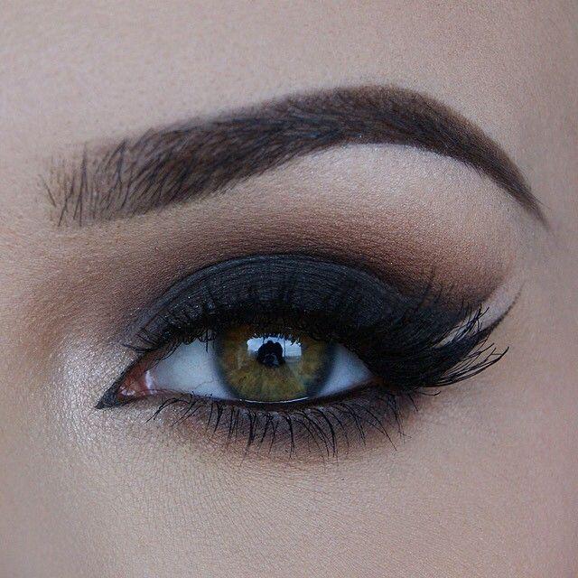 ️Smokey with double wing | Eye makeup | Beauty makeup, Eye ...