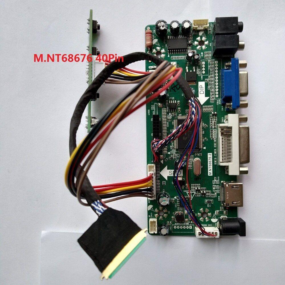 LCD LED LVDS Driver Controller board Kit for LP156WH4 TL HDMI+DVI+VGA Q2