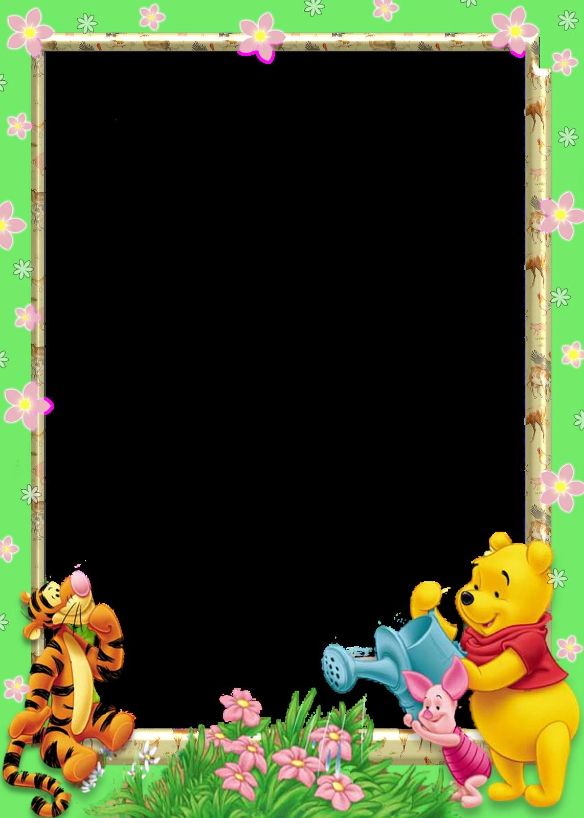 Marcos de Winnie Pooh bebé para fotos - Imagui | lindos ...