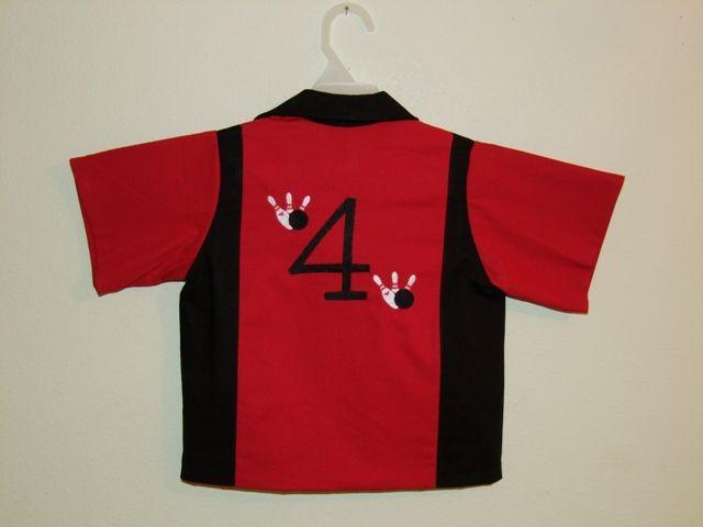 Bowling Shirts For Kids