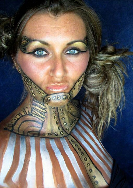 Steampunk makeup! Anyone doing any Halloween steampunk?