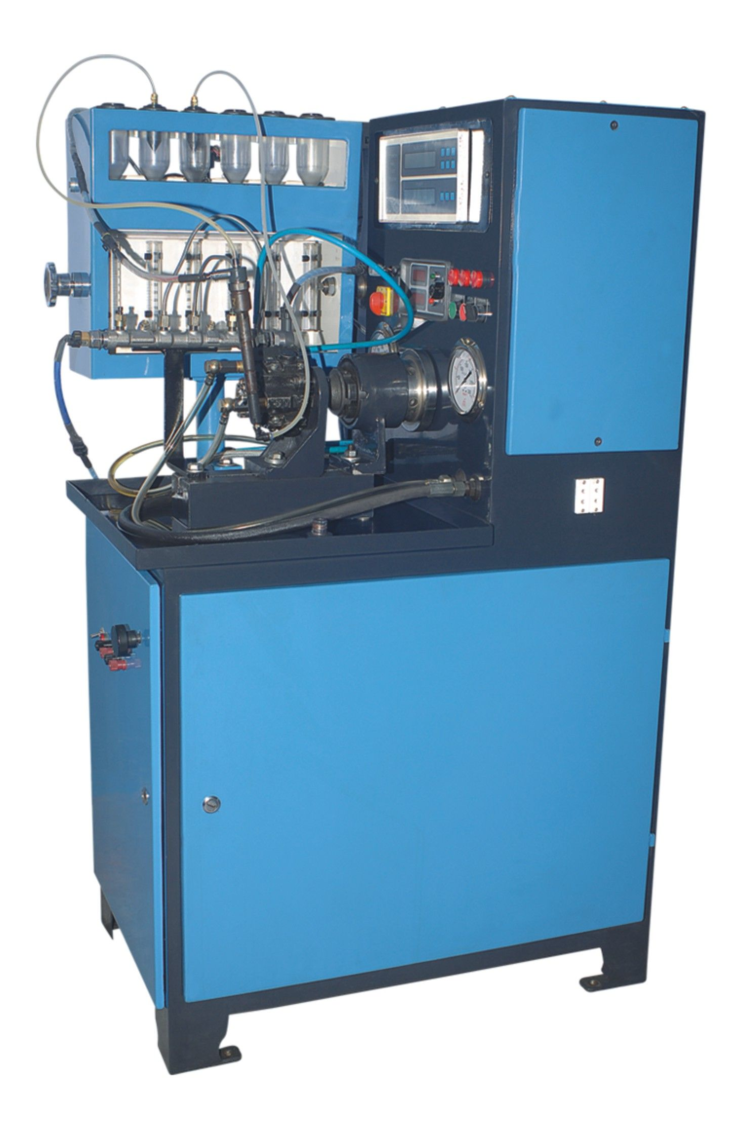 Genco Machines Sel Fuel Pump Test Bench Injection Pumps India