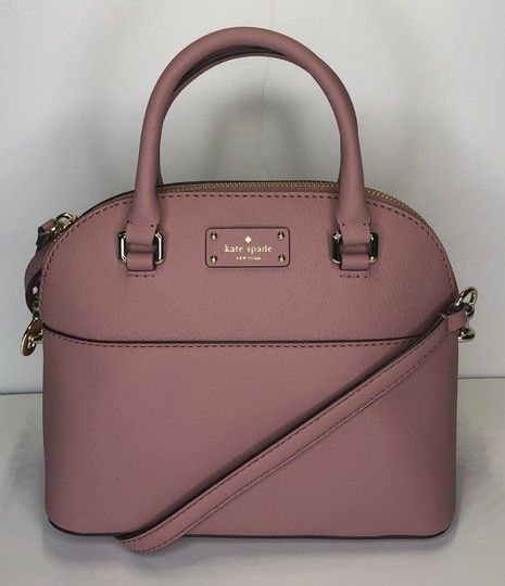 8eb2f924da62 Kate Spade New York Grove Street Mini Carli Wkru4928 Dusty Peony Leather  Satchel. Save big on the Kate Spade New York Grove Street Mini Carli  Wkru4928 Dusty ...