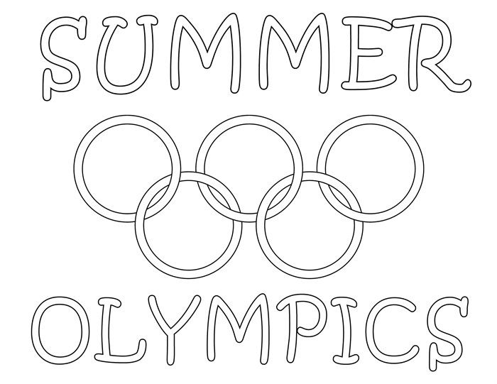 8 Printable Olympic Coloring Pages Summer Coloring Pages Coloring Pages Olympic Colors