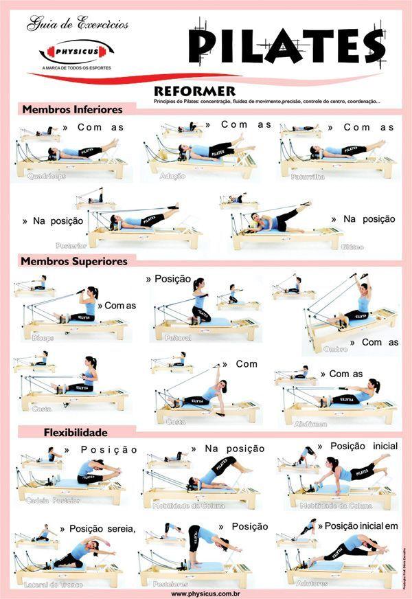 Pilates Reformer Pilates Reformer Pilates Workout