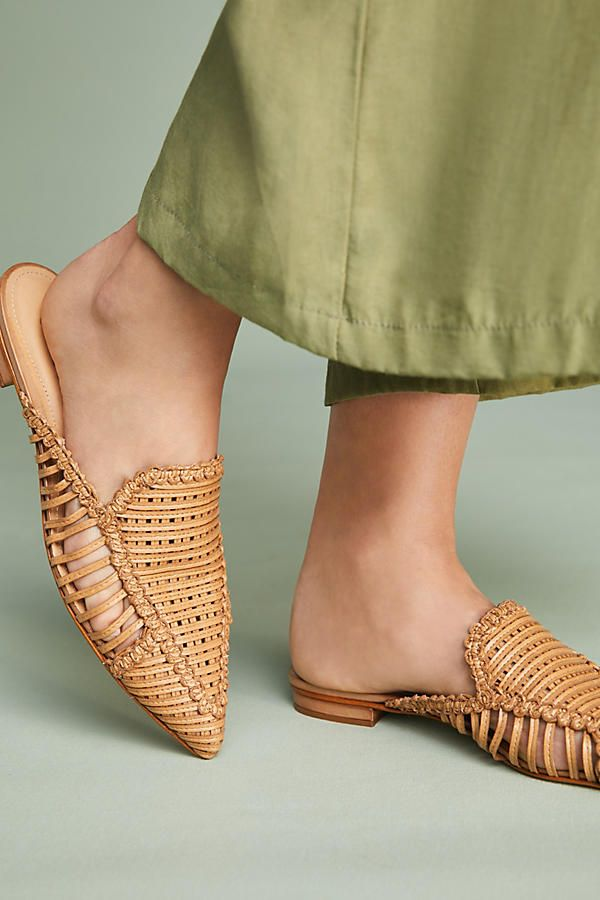 Schutz Marli Woven Slides | Cool Kicks | Favorite Shoes | Pinterest |  Spring summer, Spring and Summer
