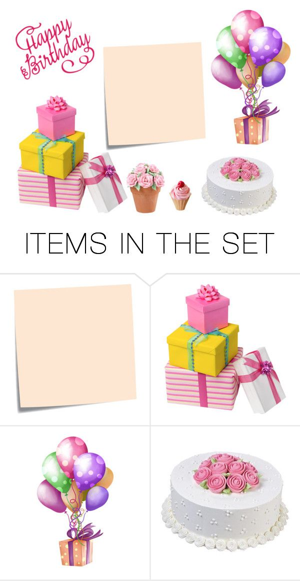 """""""Happy Birthday"""" by grafic-703 ❤ liked on Polyvore featuring art"""