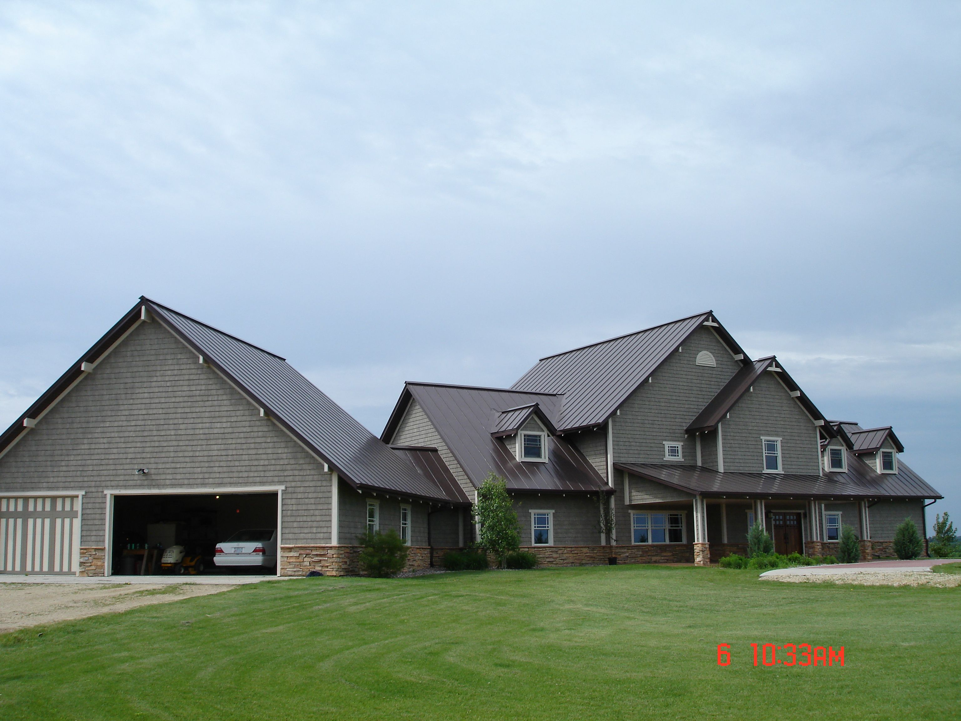 Best Mansard Brown House Styles House Cabin 400 x 300