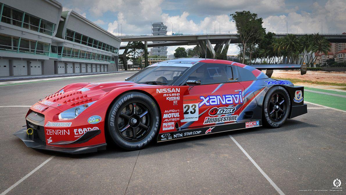 Xanavi Nissan Gt R Super Gt 02 By Dangeruss On Deviantart Nissan Gt Nissan Gt R Race Car Builds