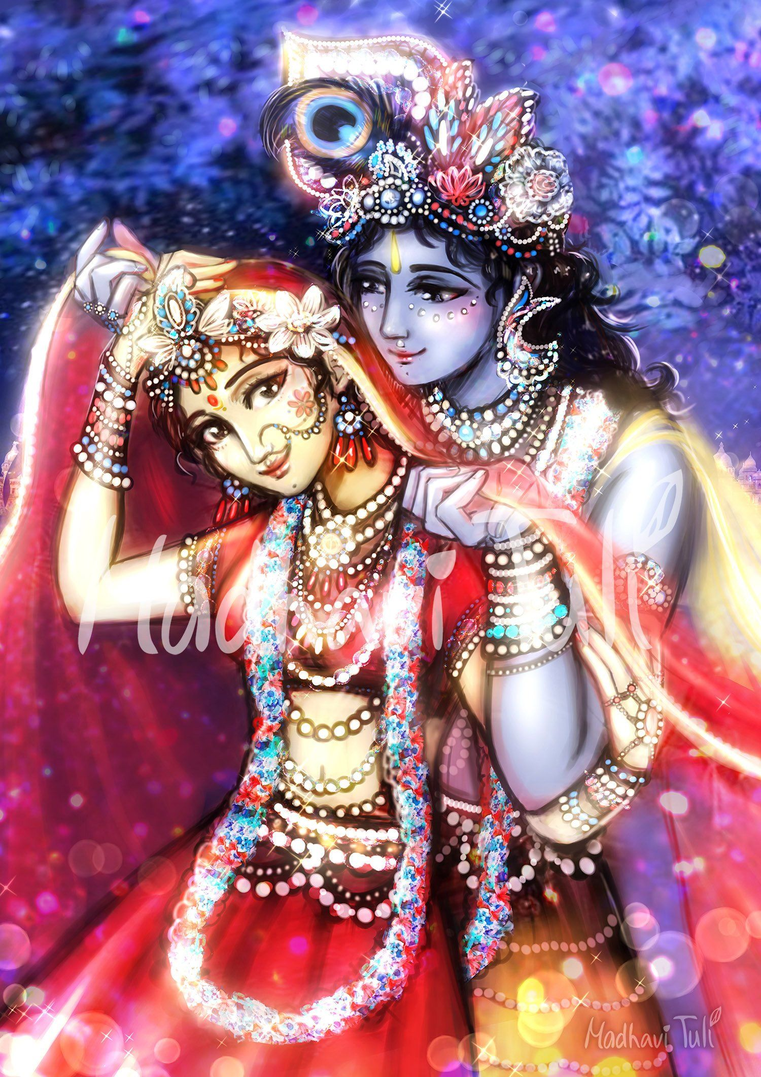 Hd File Shri Krishna With Shri Radha 4k High Quality Wallpaper Etsy Radha Krishna Art Krishna Wallpaper Krishna Art