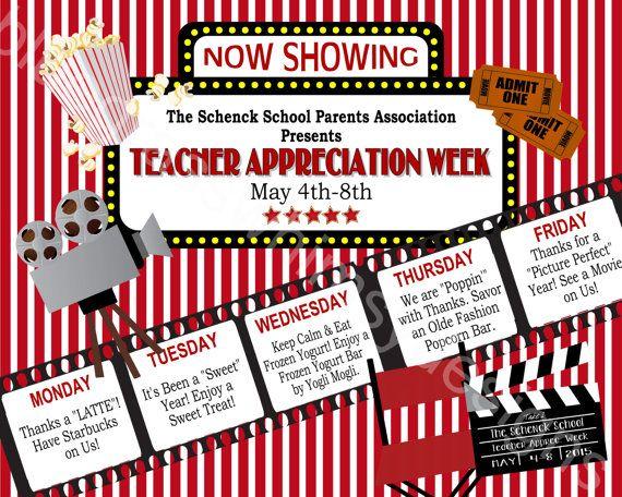 Teacher Appreciation Week Sign Printable 16 X 20 Etsy Teacher Appreciation Week Signs Teacher Appreciation Themes Teacher Appreciation Week Themes