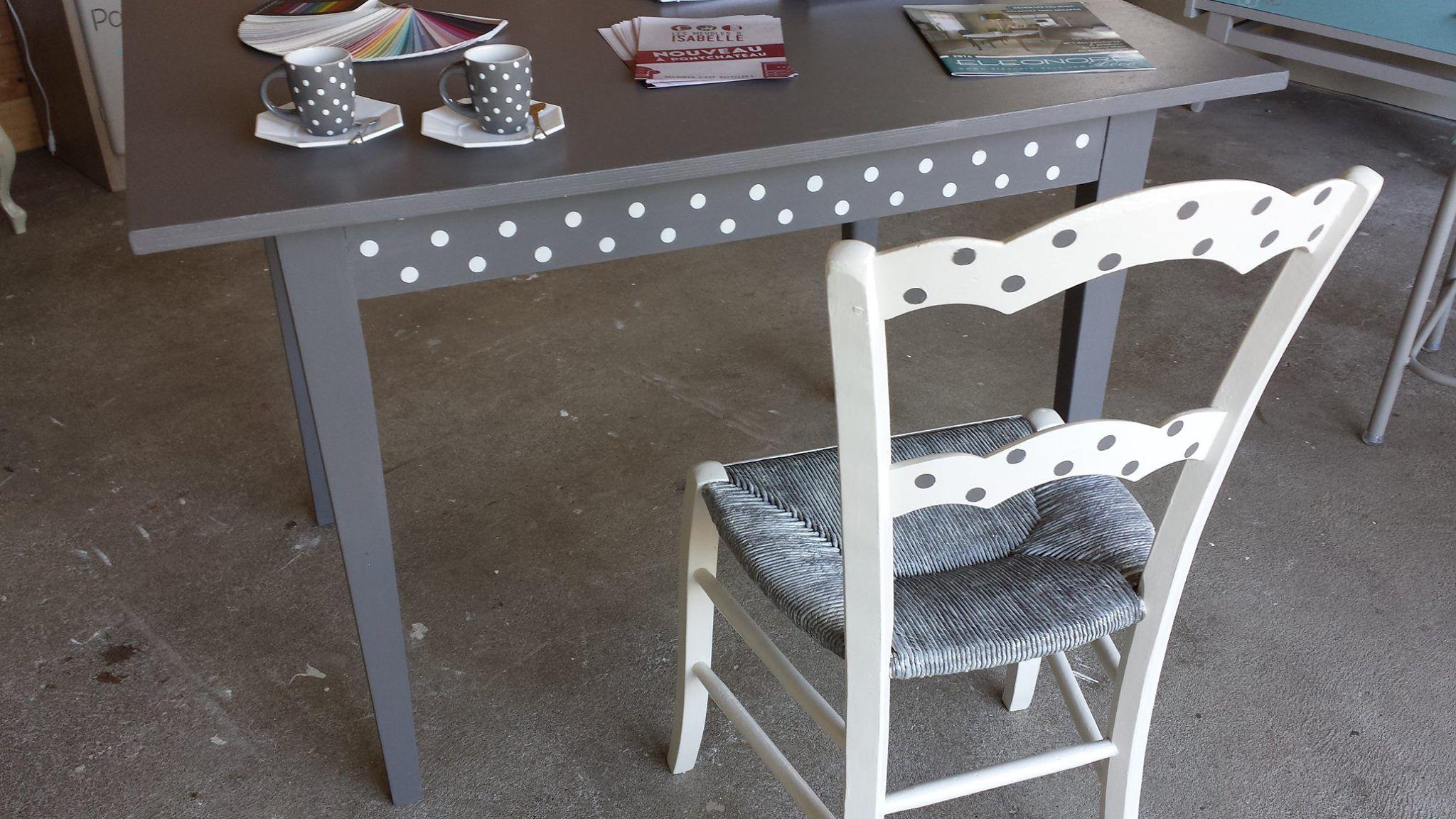 Peindre le rotin, l'osier ou la paille d'une chaise ...