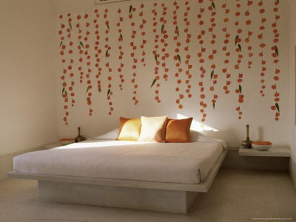 Wall Decoration Ideas Bedroom Pleasant Wall Decor Ideas Bedroom As Well As  Decorating Ideas For Images