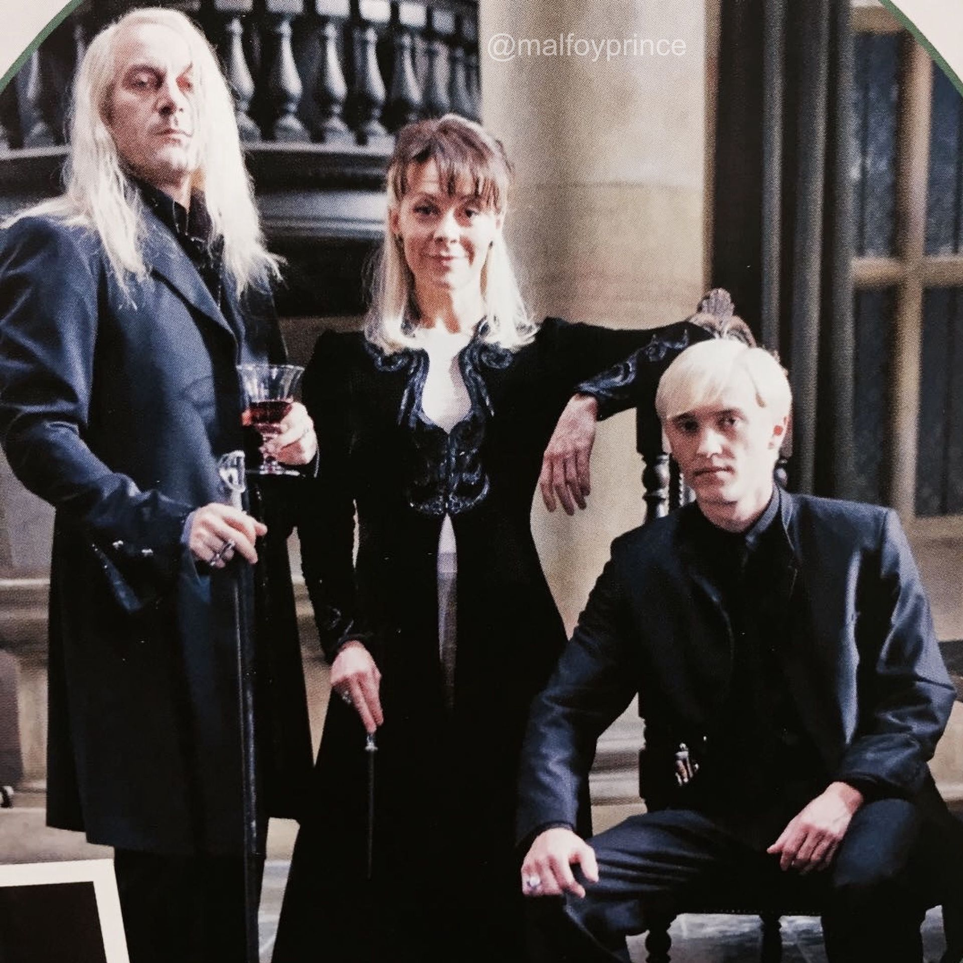 The Slytherin Queen Malfoy Family Harry Potter Actors Draco Harry Potter