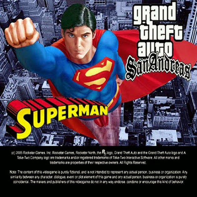 gta san andreas superman mod for android