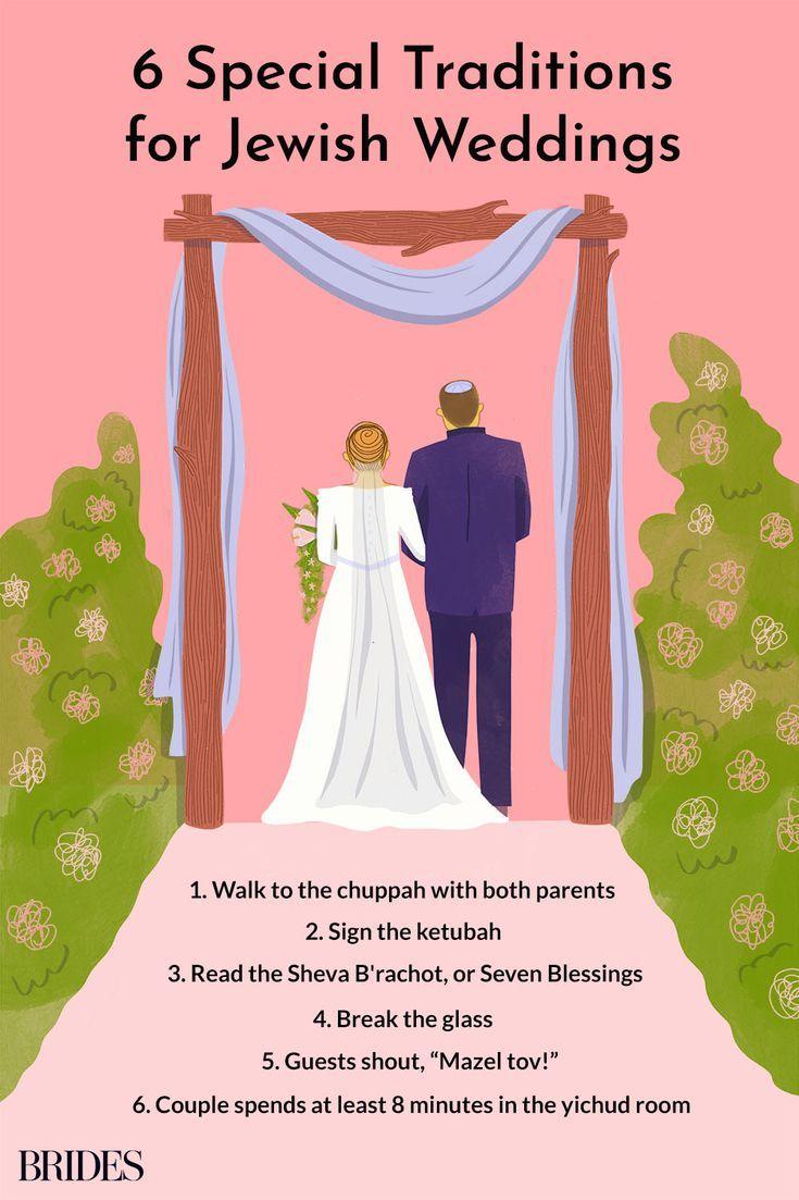 13 Jewish Wedding Traditions And Rituals You Need To Know In 2020 Jewish Wedding Traditions Jewish Wedding Jewish Wedding Ceremony